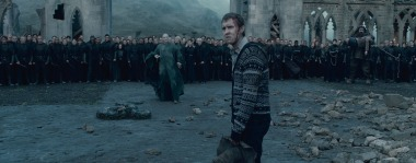 Neville vs all the death eaters